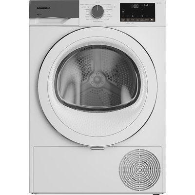 Grundig GT54923CW 9 kg Heat Pump Tumble Dryer - White