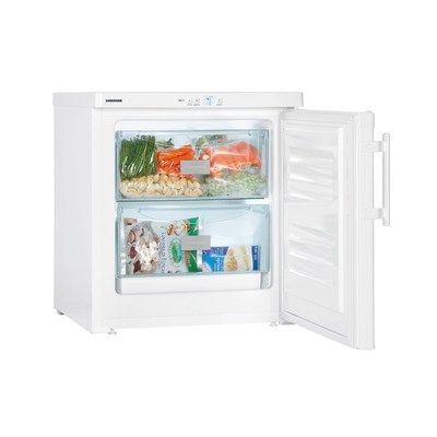 Liebherr GX823 55cm Wide SmartFrost Freestanding Upright Compact Freezer - White
