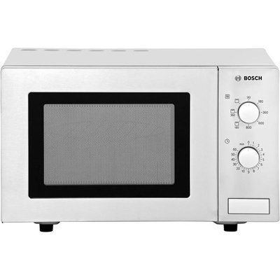 Bosch HMT72G450B 17 Litre Microwave With Grill - Brushed Steel