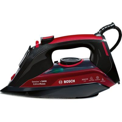 Bosch Sensixx TDA5070GB Steam Iron - Black & Red