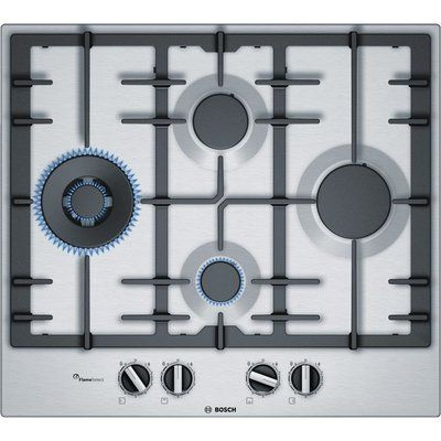 Bosch PCI6A5B90 Gas Hob - Stainless Steel