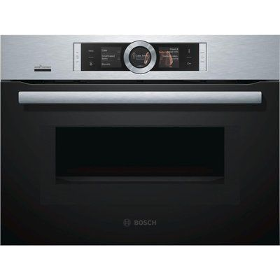 Bosch CMG656BS6B Built in Smart Combination Microwave - Stainless Steel