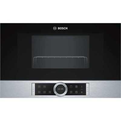 Bosch BEL634GS1B Built-in Microwave with Grill - Stainless Steel