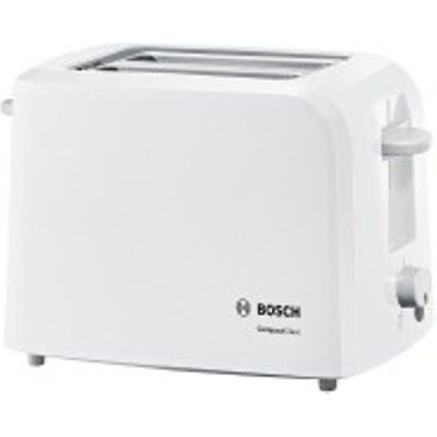 Bosch TAT3A011 980W 2 Slice Compact Wide Slot Toaster