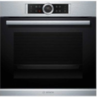 Bosch Serie 8 HBG674BS1B Built-In Electric Single Oven