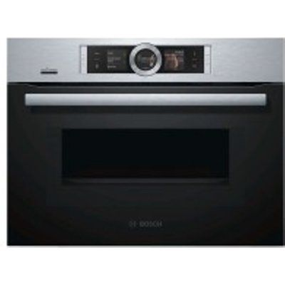 Bosch Serie 8 CMG656BS6B Single Oven with Home Connect