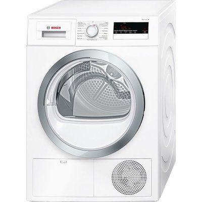 Bosch Tumble Dryer WTN85280GB Condenser - White