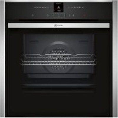 Neff N 70 B47CR32N0B 71L Built-In Oven - Slide & Hide Door