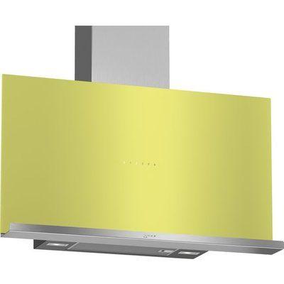 NEFF N70 D95FRM1G0B 89 cm Angled Chimney Cooker Hood - Green