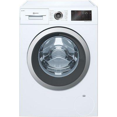 Neff W946UX0GB 9kg 1400rpm Freestanding Washing Machine With i-Dos & 15 Min Quick Wash - White