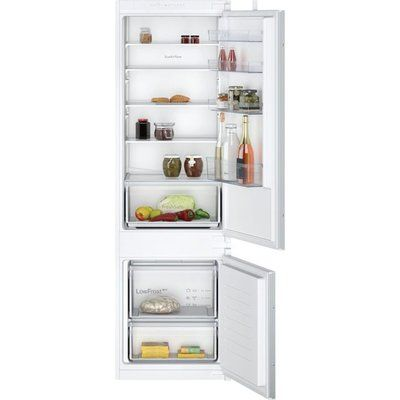 NEFF N30 KI5871SF0G Integrated 70/30 Fridge Freezer with Sliding Door Fixing Kit - White