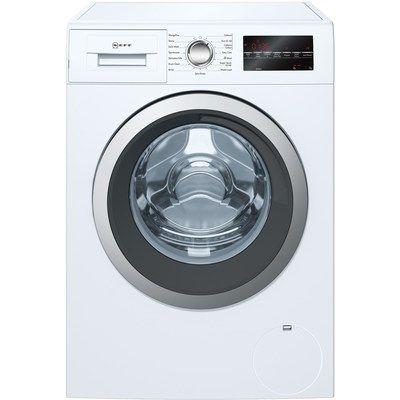 Neff W7460X5GB 9kg 1400rpm Freestanding Washing Machine With 15 Min Quick Wash - White