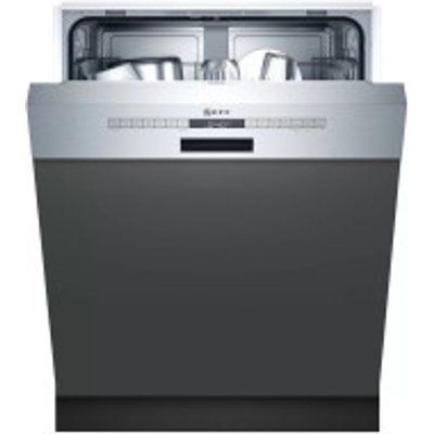 Neff N50 S145ITS04G WiFi Connected 12 Place Semi Integrated Dishwasher