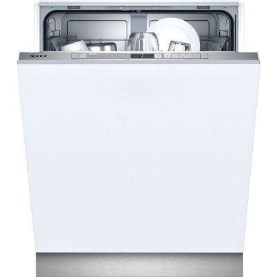NEFF N30 S153ITX05G Wifi Connected Fully Integrated Standard Dishwasher - Stainless Steel Control Panel