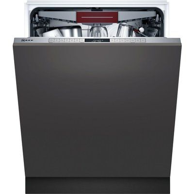 Neff N50 S195HCX26G WiFi Enabled 14 Place Setting Built In Dishwasher