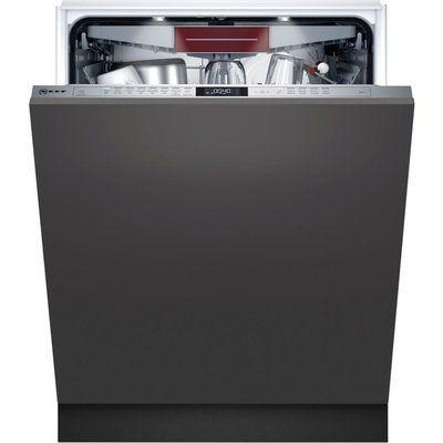 Neff N70 S187ECX23G 600mm 14 Place Setting Integrated Dishwasher