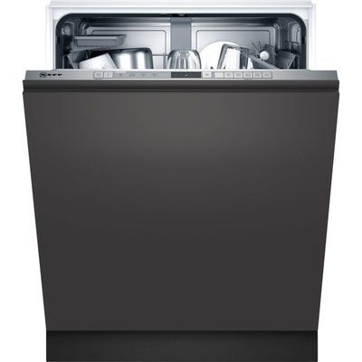 NEFF N30 S353HAX02G Fully Integrated Standard Dishwasher - Stainless Steel