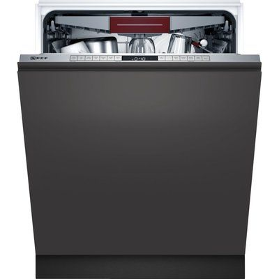 NEFF N50 S355HCX27G Fully Integrated Standard Dishwasher - Stainless Steel