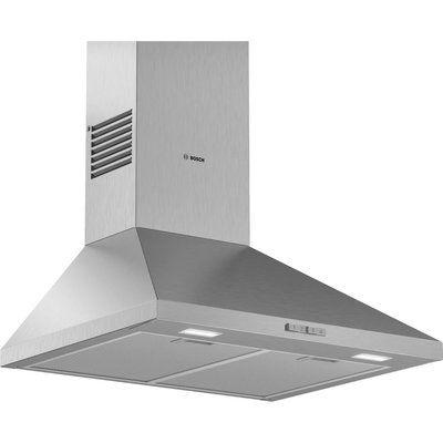 Bosch Serie 2 DWP64BC50B Chimney Cooker Hood - Stainless Steel