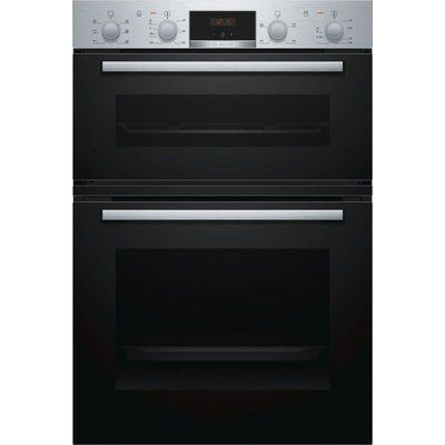 Bosch MBS133BR0B Electric Double Oven - Stainless Steel
