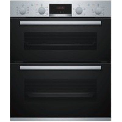 Bosch NBS533BS0B Built-In Double Oven 81L Capacity