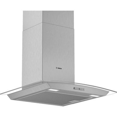 Bosch Serie 2 DWA64BC50B Chimney Cooker Hood - Stainless Steel