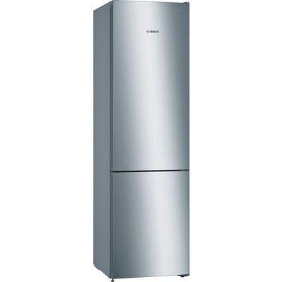 Bosch KGN39VLEBG Serie 4 Frost Free Freestanding Fridge Freezer With VitaFresh Drawers - Stainless Steel Look
