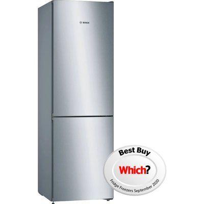 Bosch KGN36VLEAG NoFrost Freestanding Fridge Freezer With VitaFresh Drawer - Stainless Steel Look