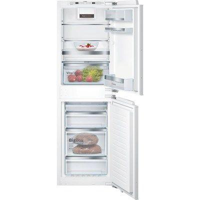 Bosch KIN85AFE0G Serie 6 NoFrost Integrated Fridge Freezer