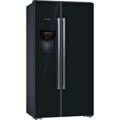 Bosch KAD92HBFP Serie 8 Side-by-side American Fridge Freezer With ice & Water Dispenser - Black
