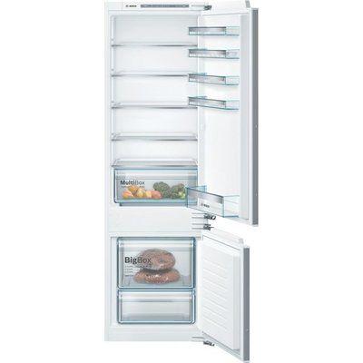Bosch Serie 4 KIV87VFF0G Integrated 70/30 Fridge Freezer - White