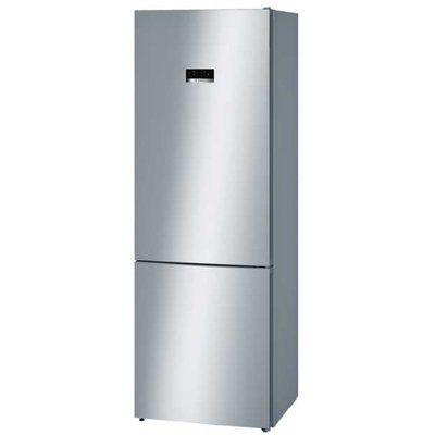 Bosch KGN49XLEA Seri 4 Frost Free Freestanding Fridge Freezer - EasyClean Stainless Steel