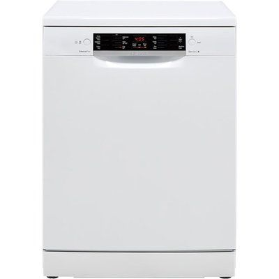 Bosch Serie 4 SMS46JW09G Standard Dishwasher - White