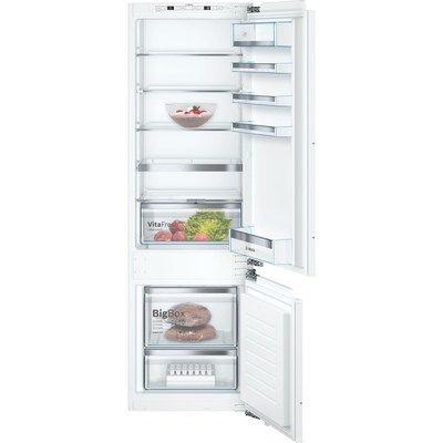 Bosch KIS87AFE0G Serie 6 Low Frost 70/30 Split Integrated Fridge Freezer