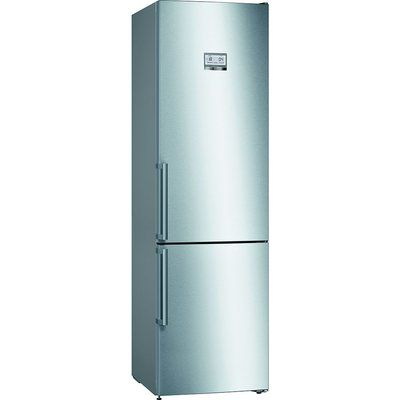 Bosch KGN39HIEP Serie 6 Home Connect Frost Free Freestanding Fridge Freezer - Easyclean Stainless Steel