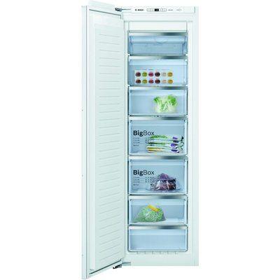 Bosch GIN81AEF0G Serie 6 Upright Integrated Freezer