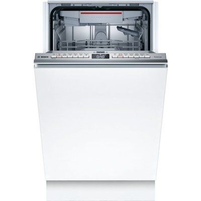 Bosch Serie 4 SPV4EMX21G Wifi Connected Fully Integrated Slimline Dishwasher - Stainless Steel