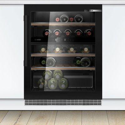 Bosch Serie 6 KUW21AHG0G Built In Wine Cooler - Black