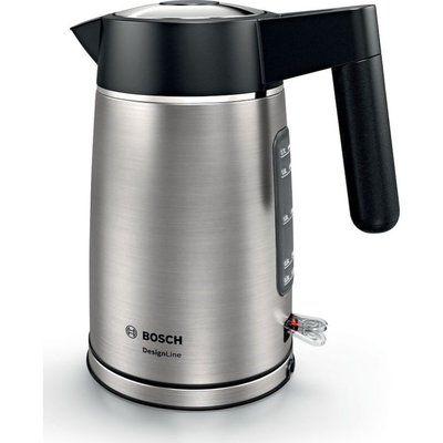 Bosch DesignLine TWK5P480GB Jug Kettle - Black & Silver