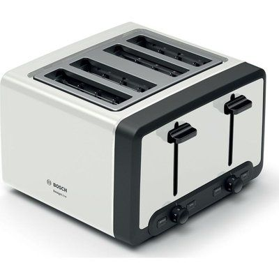 Bosch DesignLine TAT5P441GB 4-Slice Toaster - White