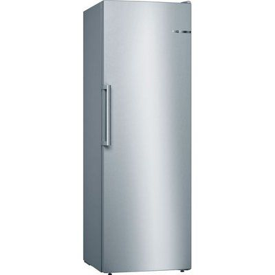 Bosch Serie 4 GSN33VLEP Frost Free Upright Freezer - Stainless Steel