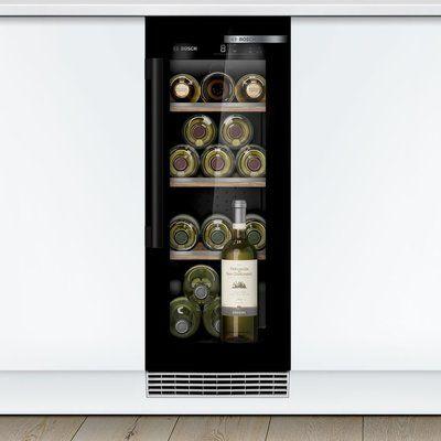 Bosch KUW20VHF0G Built In Wine Cooler - Black