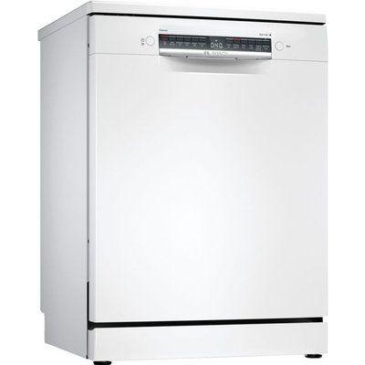 Bosch Serie 4 Free Standing Dishwasher - White