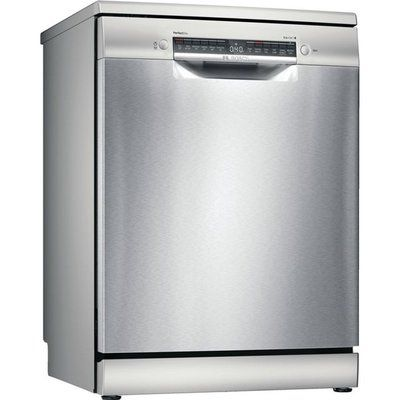 Bosch Serie 6 Free Standing Dishwasher - Stainless Steel Effect