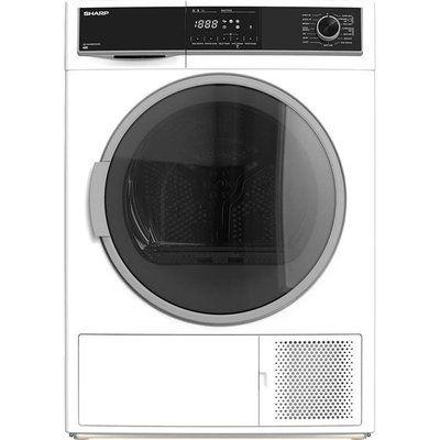 Sharp KD-HHH8S7GW2-EN 8 kg Heat Pump Tumble Dryer - White
