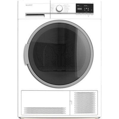 Sharp KD-GCB9S7GW9-EN 9Kg Condenser Tumble Dryer - White