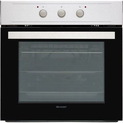 Sharp K-60M15IL2-EU Built In Electric Single Oven - Stainless Steel