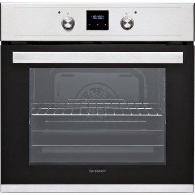 Sharp K-60D19IM1-EU Built In Electric Single Oven - Stainless Steel