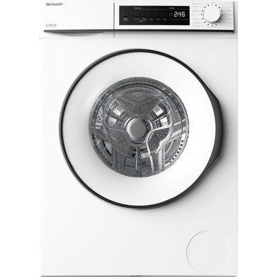 Sharp ES-NFB8141WD-EN 8 kg 1330 Spin Washing Machine - White