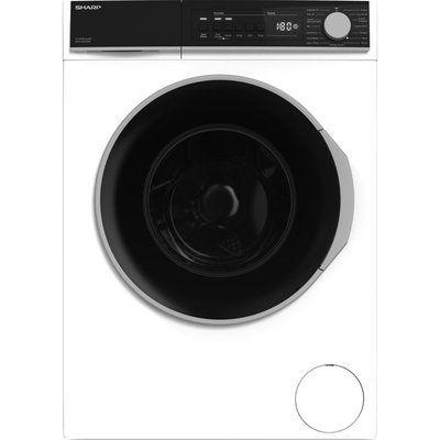 Sharp ES-NFB814AWC-EN 8 kg 1330 Spin Washing Machine - White